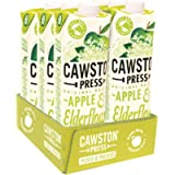 Cawston Press Apple & Elderflower Pressed Juice, 1 l, Pack of 6