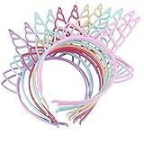 Eenhoorn haarband voor kinderen, kinderverjaardag, eenhoorn haarband, eenhoorn hoofdband, eenhoorn hoofdband, 12 stuks