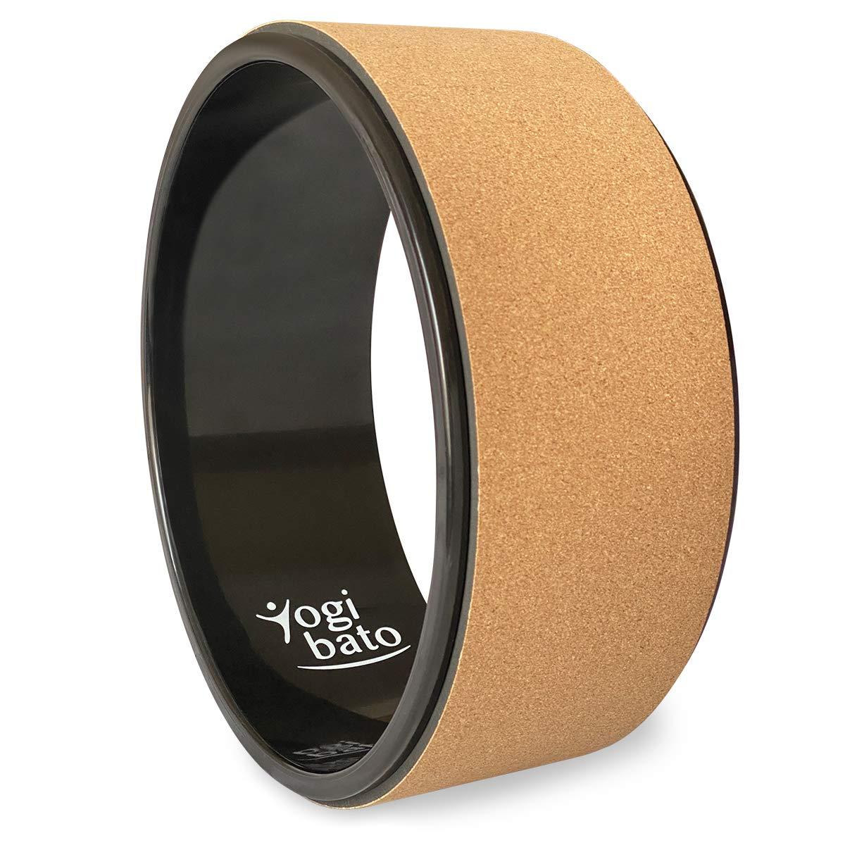 Pilates Rad 33x13cm Ideal zur Verbesserung der Flexibilit/ät Balance und K/örperhaltung POWRX Yoga Wheel Professional