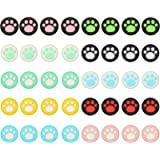 Topcloud 10Colors Cat Claw Design Joystick Cover Sets, Thumb Grip Caps Compatible with Nintendo Switch&Lite, Soft…
