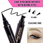 Black Liquid Eyeliner, Cat Eye Stamp eyeliner, Eye Liner Stamp Perfect Wings, Wingliner Waterproof Makeup-quick flick...