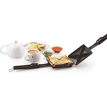 Tosaa Quadra 4-Cut Sandwich Toaster (Black)