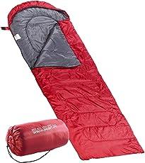 PEARL Mini Schlafsack: Superleichter Sommer-Schlafsack, Deckenschlafsack 210 x 75 cm (Superleichter Decken Schlafsack)
