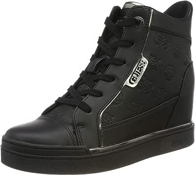 Guess Fabia/Stivaletto (Bootie)/Leat, Sneaker a Collo Alto Donna