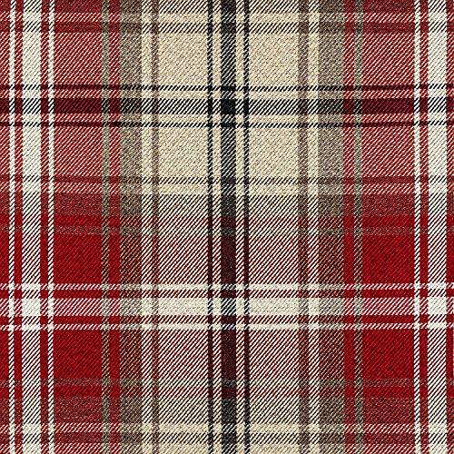 McAlister Textiles Signature Kollektion | Angus Stoff im Tartan-Muster kariert...