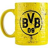 Borussia Dortmund BVB 09–Taza con dibujo de pared amarilla