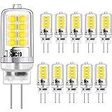 G4 LED-lampa 2 W motsvarar 20 W halogenlampor, G4 LED-lampa kall vit 6000 K, g4 energisparlampa, G4-uttag LED-lampa, inget fl