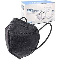 ELIOX 20 Mascherine FFP2 Nere Certificate CE Mascherina Antipolvere a 5 Strati Maschera Di Protezione Respiratoria con…