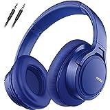 Mpow H7 Cascos Bluetooth 5.0 Diadema, 25hrs de Reproducir, Hi Fi Sonido, Cascos Bluetooth Inalámbricos con Micrófono Incorpor