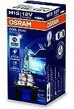 Osram 64176CBI COOL BLUE INTENSE H15 Halogen, Scheinwerferlampe, 12V, Faltschachtel, 1 Stück