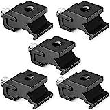 """Neewer - Adaptador de Soporte para zapata de flash de Metal Negro con Tornillo de Trípode de 1/4"""" -20 (5 paquetes)"""