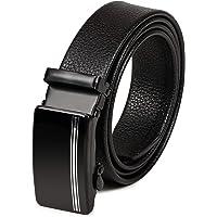 VOGARD Mens Artificial Leather Auto lock Buckle Belt (Free Size)