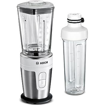 Bosch MMBM7G2M VitaStyle Mixx2Go Batidora de vaso individual 2000 W, 12 Unknown_Modifier, 0.3, Plástico, 2 Velocidades, Blanco