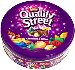 Supreme World Nestle Street Chocolates And Toffees In Tin Box 480 Grams