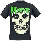 Misfits Jarek Skull Uomo T-Shirt Nero Regular