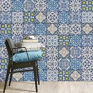 wand sticker f r fliesen badfliesen u k chenr ckwand berkleben mit fliesen mosaik aufkleber. Black Bedroom Furniture Sets. Home Design Ideas
