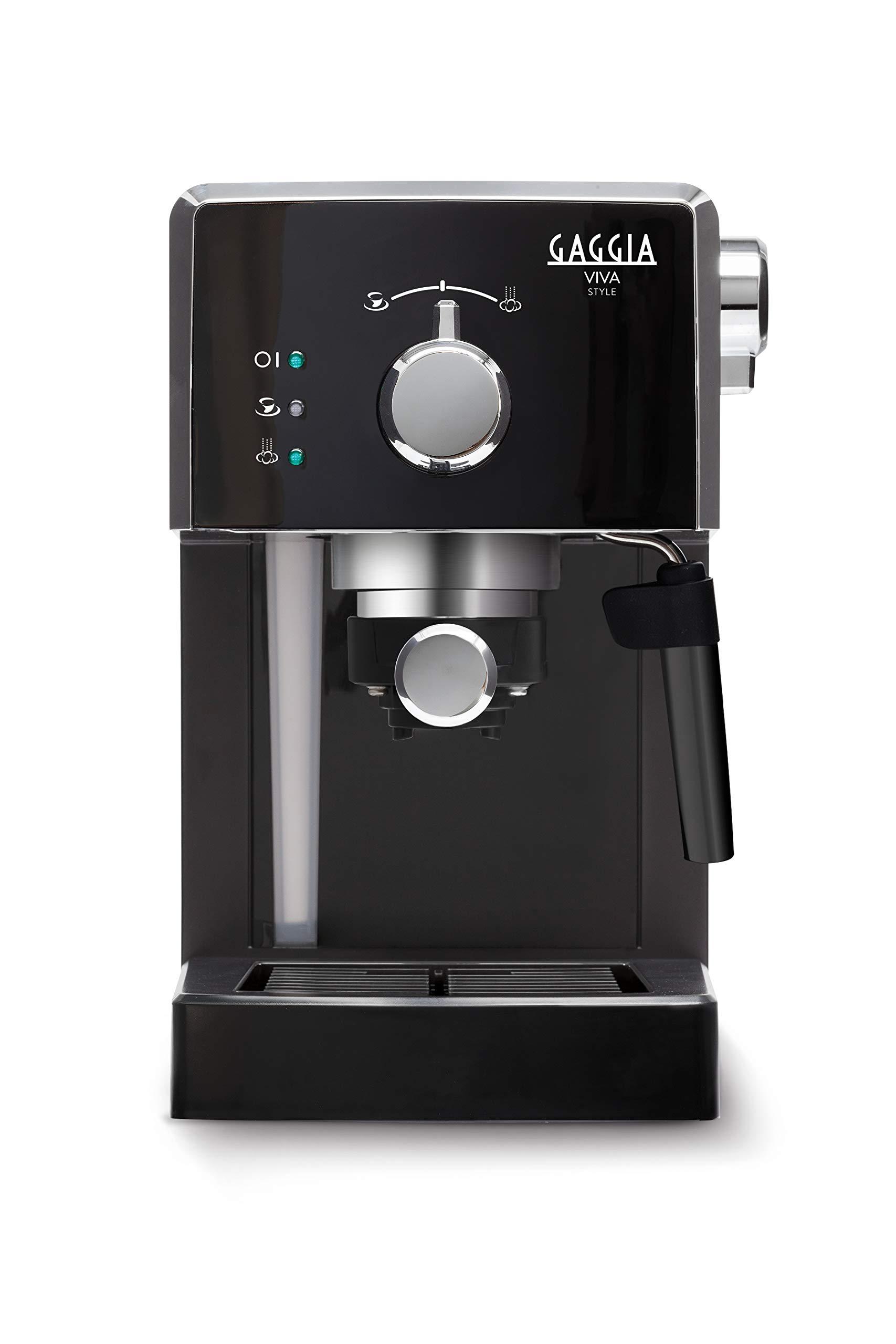 Gaggia Viva Style Macchina da Caffè Espresso Manuale, per Macinato e Cialde, RI8433/11 2 spesavip