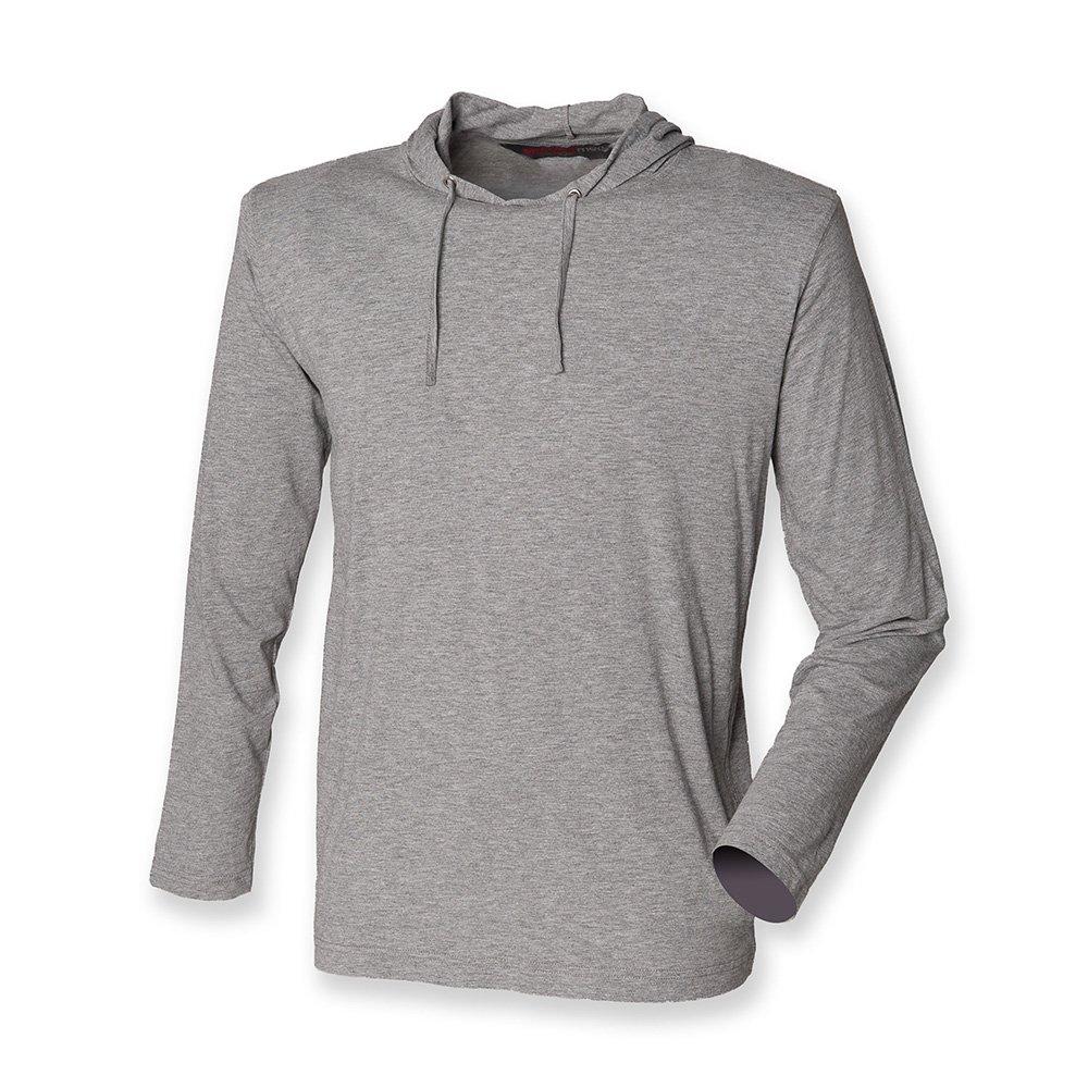 Skinnifitmen Men's Hooded Long Sleeve T Shirt: Amazon.co.uk: Clothing