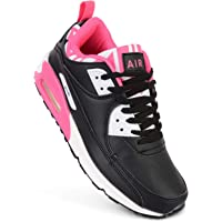 Ladies Running Trainers Air Tech Shock Absorbing Fitness Gym Sports Shoes UK Size 4-8