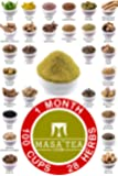 Masa Tea 1 Month Diet Pack - World's Best Fast Slimming Weight Loss, Immunity Booster, Anti Aging, Hair Growth, Muscle…