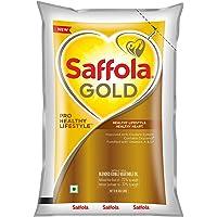 Saffola Gold, Pro Healthy Lifestyle Edible Oil Pouch 1 L