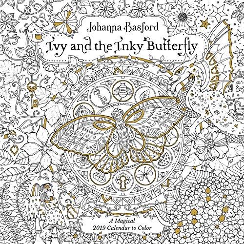 all Calendar (Johanna Basford-secret Garden)