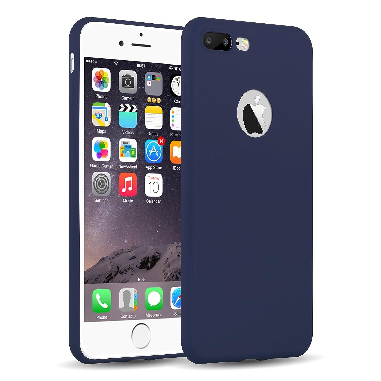 Cover iPhone Siliconata Blu