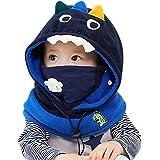 DORRISO Lindo Niños Bebe Gorra Cómodo Calentar Pequeña Animal Dibujos Animados Gorras Sombrero de Niño Apto para 1-8 años Niñ