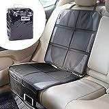 IREGRO Autositzauflage Kindersitzunterlage Isofix Autositzbezüge geeignet Unterlage für Kindersitz, Wasserabweisend