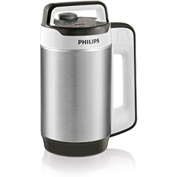 Philips HR2202/80 Blender Chauffant Smoothies Gaspachos Compotes Soup Maker Double Paroi Isolante 990 W 1,2 L