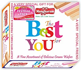 R B Mangharam Cream Wafers The Best For You 260g