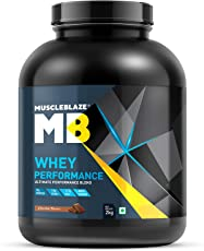 MuscleBlaze 70% 2kg Whey Performance Protein (Chocolate)