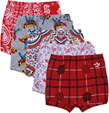 Kids Basket Baby Kids Boys & Girls 100% Cotton Briefs Panties/Drawer Inner Underwear Combo Offer Pack of 5 and 10 Pc