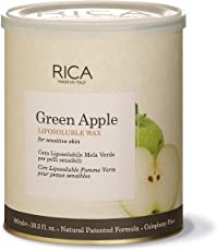 Rica Green Apple Wax for Sensitive Skin,800 Ml
