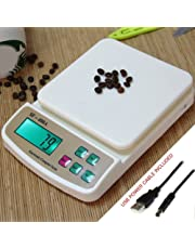 Bulfyss Advanced Electronic Kitchen Digital Weighing Scale with Capacity Upto (10 kg, Multicolour)