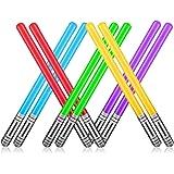 Yojoloin 10 UNIDS Inflables Star War Light Saber Sword Stick Globos para Suministros de Fiesta Favores de Fiesta Globos 5 Col