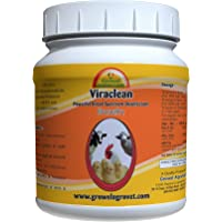 Growel Viraclean Disinfectant an Anti-Bacterial Powder for Farm Animals, 100 g