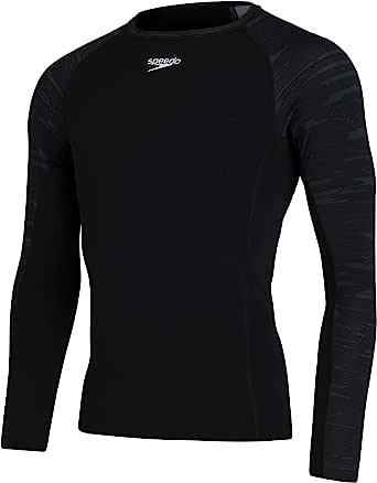 Speedo Men's Sports Long Sleeve Rash Top