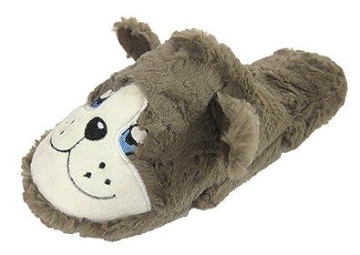 Coolers, Hund, Flauschige Hausschuh Pantolette Hausschuhe, klein (3/4), M ( 5/6), Large (7/8: Amazon.de: Schuhe & Handtaschen