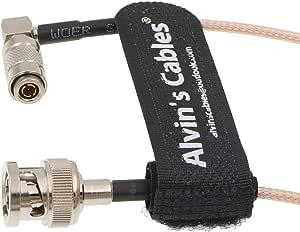 Alvin S Cables Rg179 Din 1 0 2 3 Rechtwinklig Auf Bnc Kamera