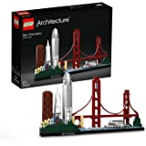 LEGO 21043 Architecture San Francisco, Baumodell mit Golden Gate Bridge und Alcatraz Island, Skyline-Kollektion…