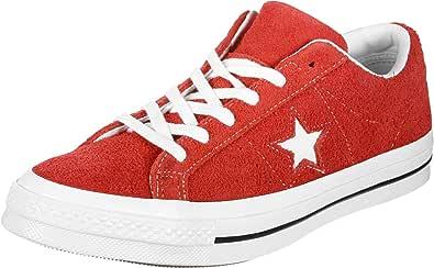 Converse One Star Ox Blu (Navy) Scamosciata Adulto Formatori Scarpe