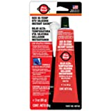 Sealpro ProSeal 80726 High Temperature RTV Silicone Instant Gasket, Red