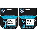 2x Cartouches d'encre noir HP Imprimantes Cartouches d'encre pour Imprimante HP Deskjet 3730–Véritable