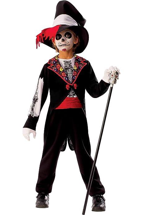 Rubies- Disfraz Catrina Boy, Multicolor, L (8-10 años ...