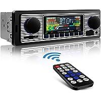 Aigoss Autoradio Bluetooth, Car Stereo Main Libre 4x60W FM Radio Voiture Récepteur avec Lecteur MP3 avec Intégré EQ…