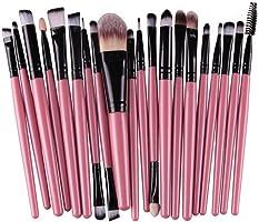 Malloom® 20 PC Professionale Contorno Piatto Fard Pennello Cosmetico Rossore Kabuki Strumento Cosmetici Pennello Trucco...