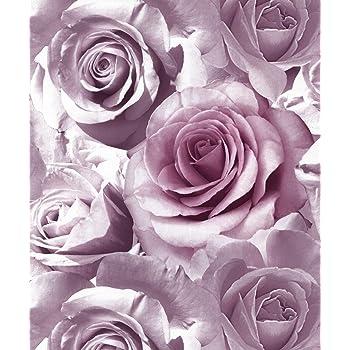 Muriva Tapete Blau 119503 Madison Rose Blumen