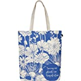 EcoRight Canvas Tote Bags for Women, Printed Organic Cotton Bags for Women, Cute Hand Bag for Girls for College, Travel, Groc