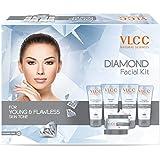 Vlcc Diamond Facial Kit, Young & Flawless Skin Tone, 308g
